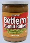 Better 'N Peanut Butter - 100 cal (2 pts) for 2 Tbsp